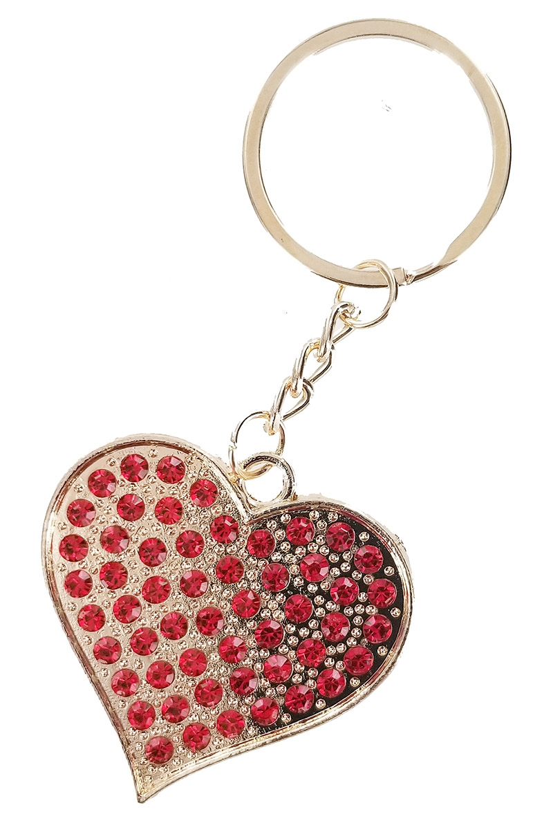 Heart Key Chain - orangeshine.com