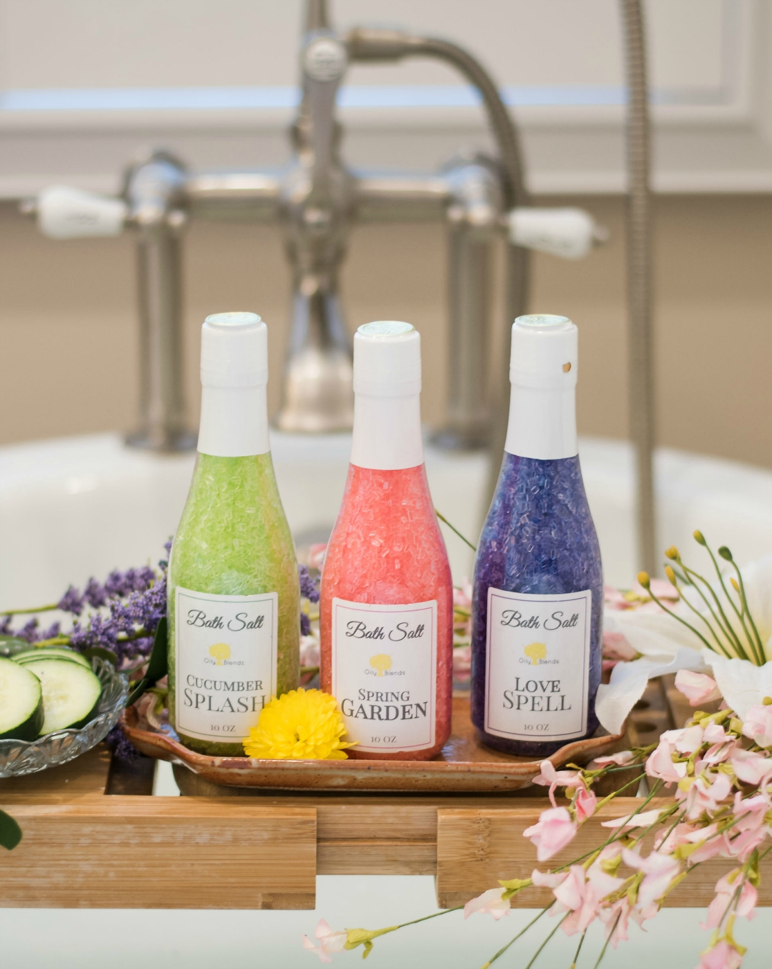 Spring Bath Salt Sampler - orangeshine.com