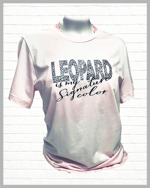 Leopard is my Style Premium T-Shirt - orangeshine.com