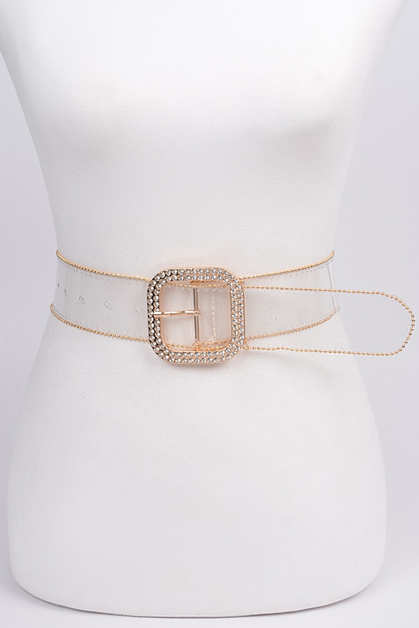 Bead Frame Clear Belt - orangeshine.com