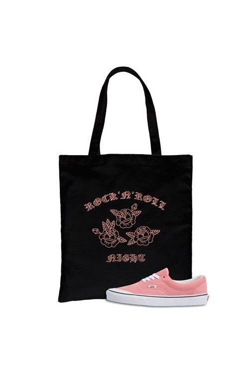 Rock N Roll Night Canvas Bag - orangeshine.com