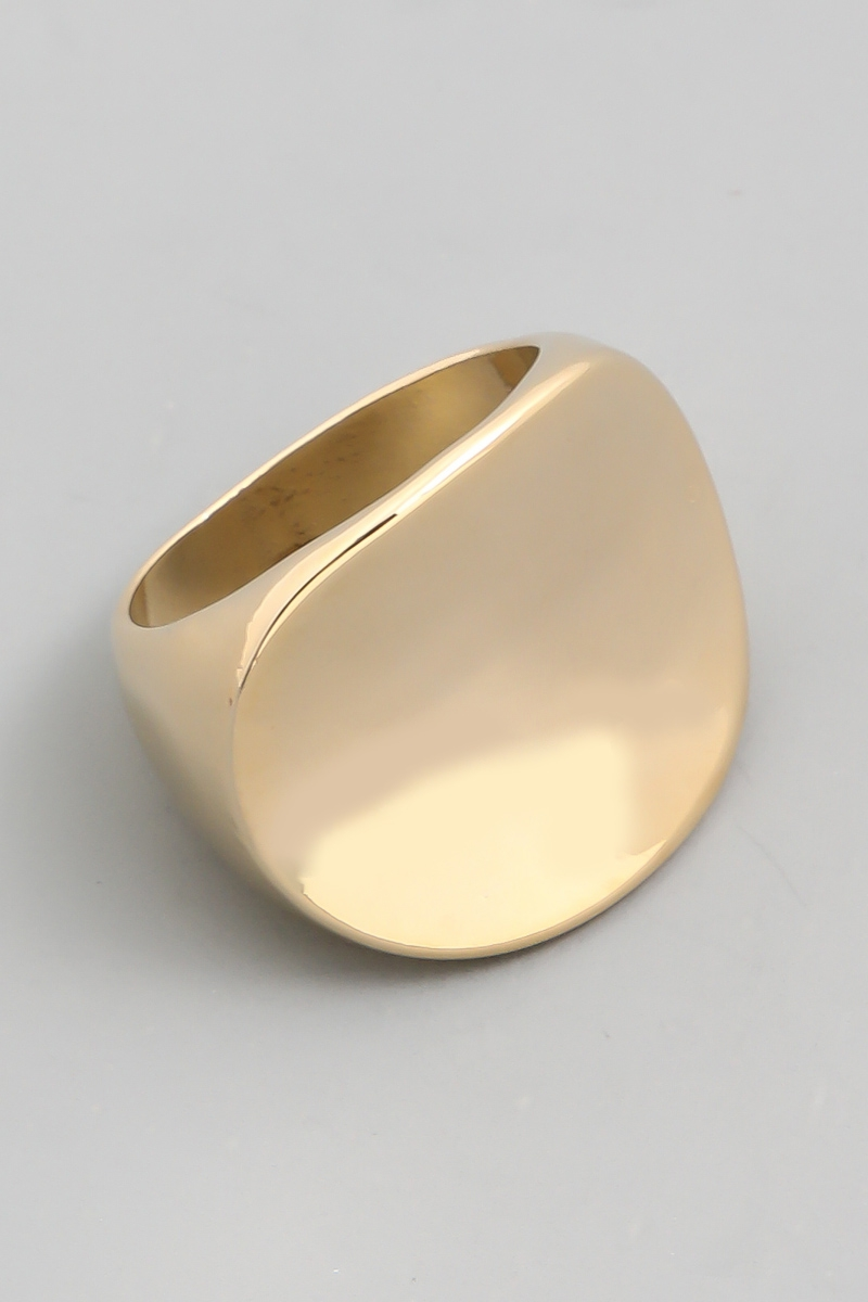 Solid Oval Top Ring - orangeshine.com