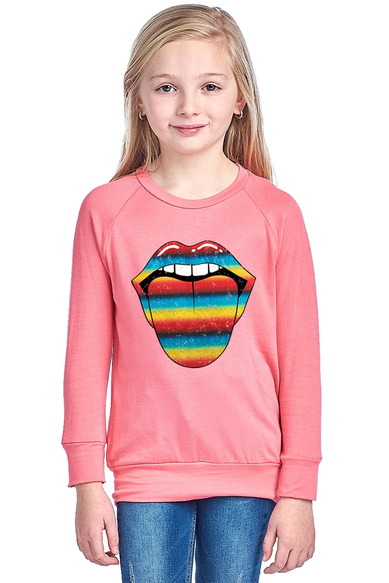 KID FRENCH TERRY SWEATER - orangeshine.com