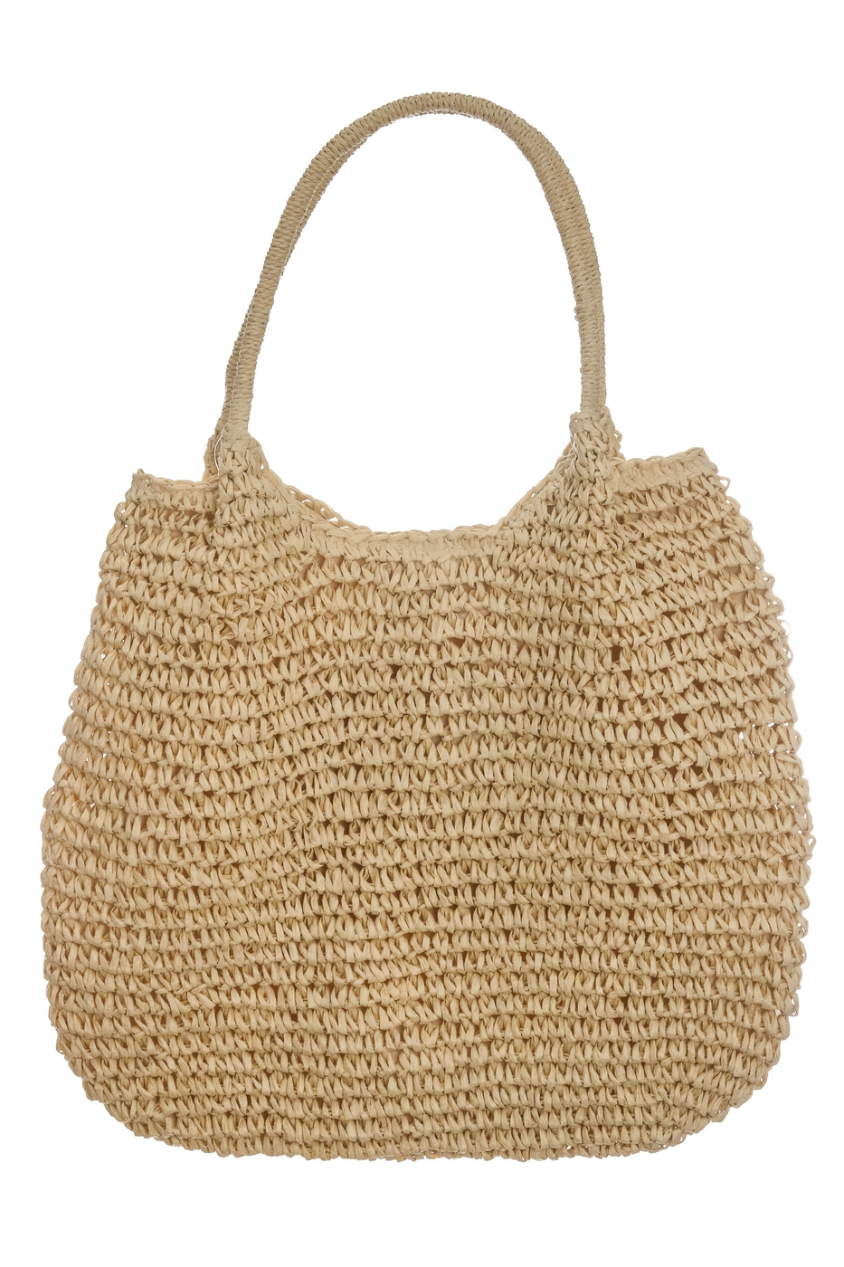 Straw Woven Large Tote Bag - orangeshine.com