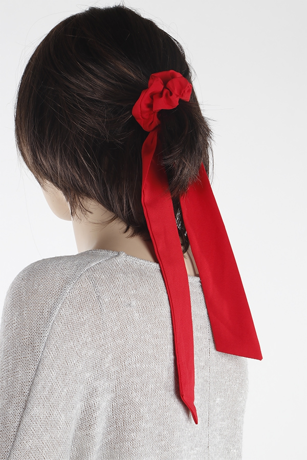 Monotone Long Scrunchie - orangeshine.com