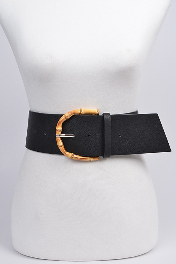 Bamboo Buckle Belt - orangeshine.com