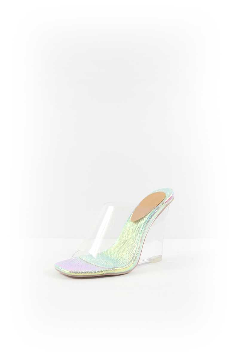 CLEAR WEDGE HEELS - orangeshine.com