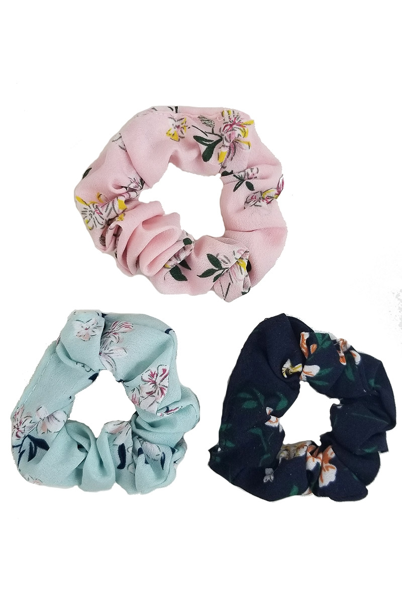3-pc Scrunchie Set - orangeshine.com