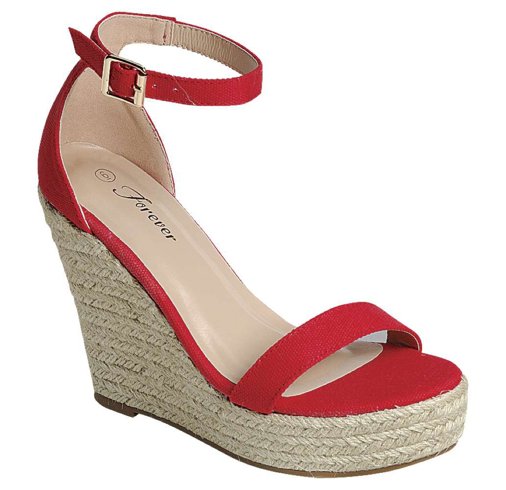 LADIES PLATFORM ANKLE STRAP SANDALS - orangeshine.com