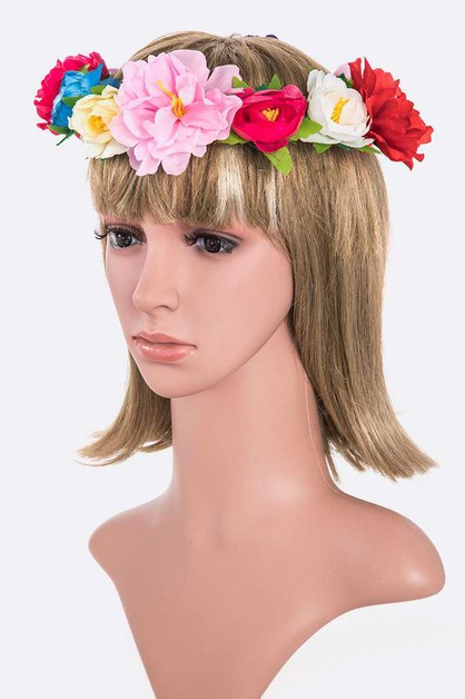 Large Flower Crown - orangeshine.com