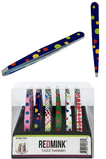 REDMINK FACIAL TWEEZERS - DOTS - orangeshine.com