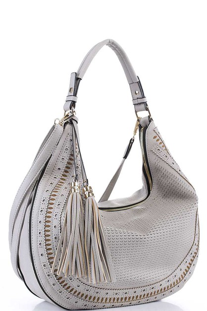 TRENDY EXPANDIBLE HOBO BAG  - orangeshine.com