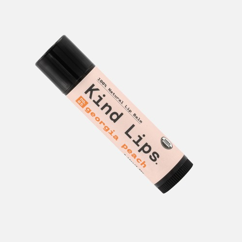 Georgia Peach Lip Balm 10 Pack - orangeshine.com