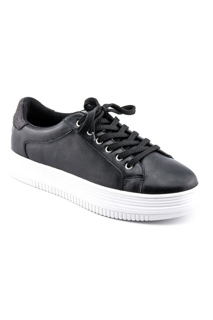 Women`s lace-up sneakers - orangeshine.com