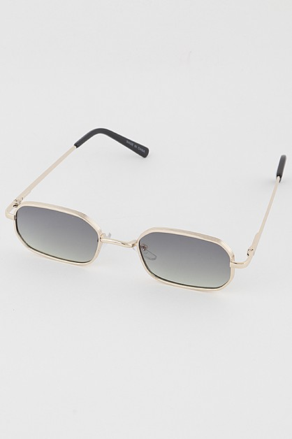 Classic Tinted Retro Sunglasses - orangeshine.com