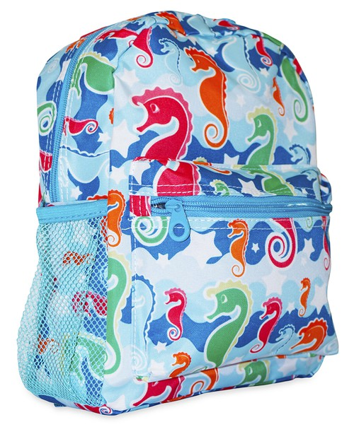 Sea Horse Mini Toddler Backpack  - orangeshine.com