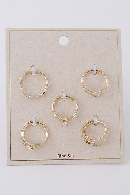 Multi Ring Set - orangeshine.com