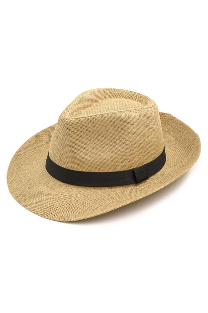 Short Brim Summer Fedora Hat - orangeshine.com