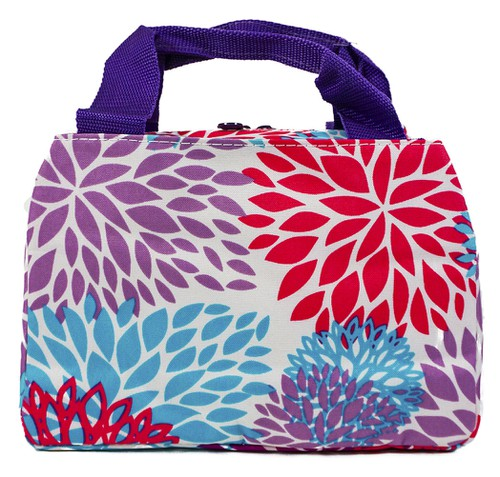 Floral Insulated Lunch Bag - orangeshine.com