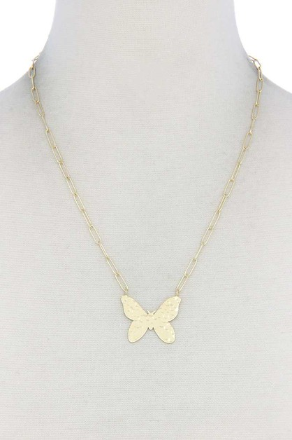 BUTTERFLY NECKLACE - orangeshine.com