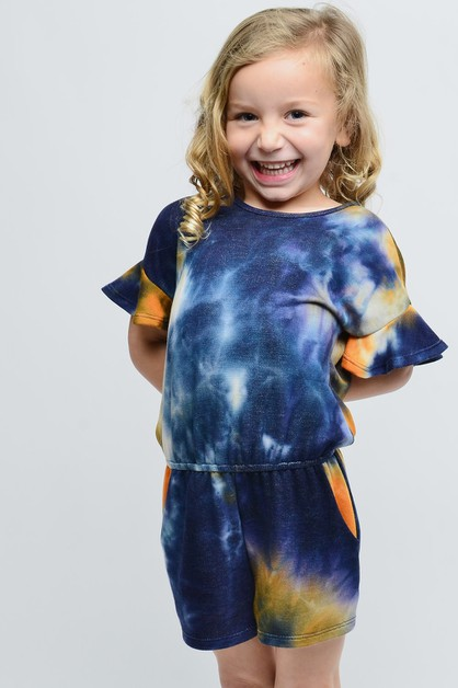 TIE DYE ROMPER FOR KIDS - orangeshine.com