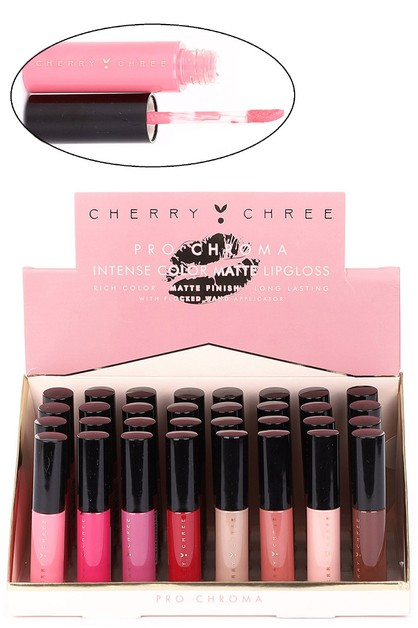 24-pc Assorted Color Lip Gloss Set - orangeshine.com