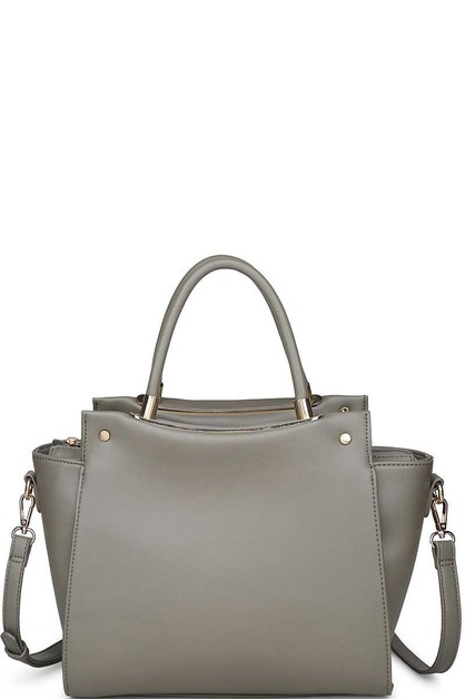 GREYSON SATCHEL WITH LONG STRAP - orangeshine.com