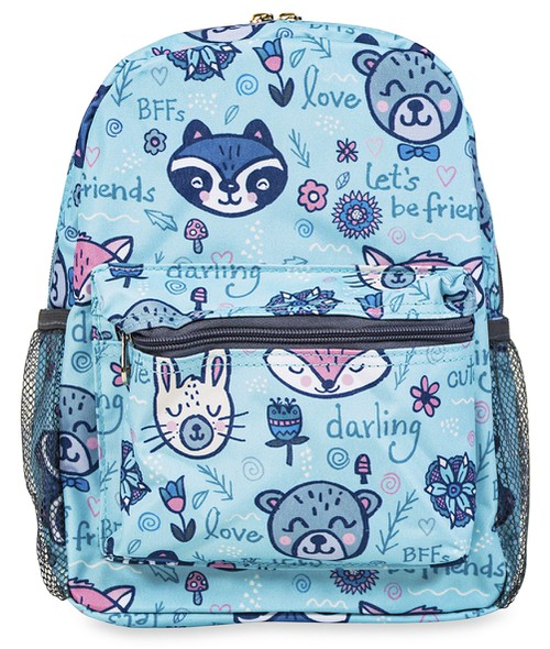 Raccoon Mini Toddler Backpack Small - orangeshine.com