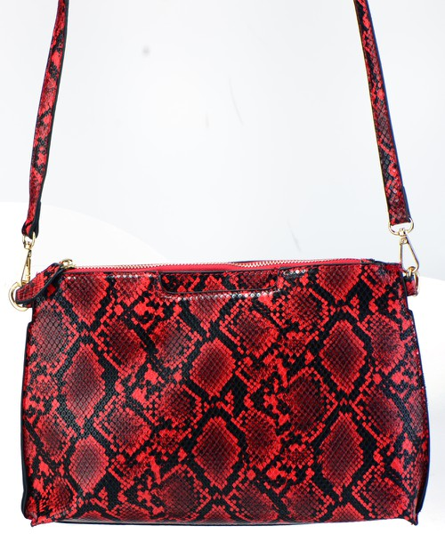 Snakeskin Crossbody Bag - orangeshine.com