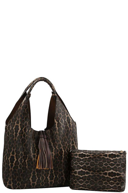 FASHION TASSEL ACCENT HOBO BAG - orangeshine.com