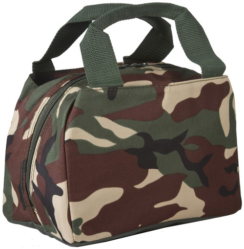 Camouflage Insulated Lunch Bag - orangeshine.com