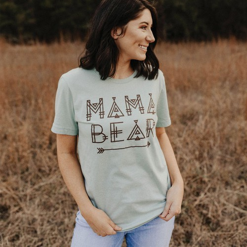MAMA BEAR GRAPHIC TEES - orangeshine.com