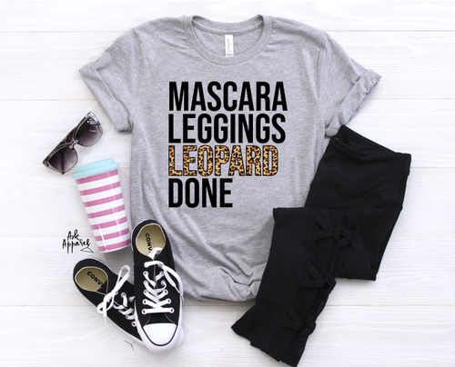 Mascara Leggings Leopard Done - orangeshine.com