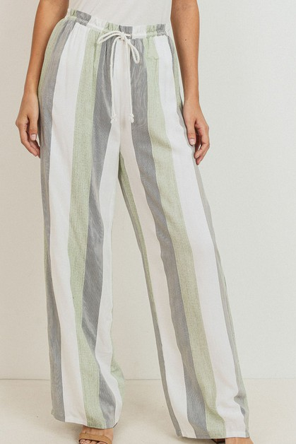 Stripe Pants - orangeshine.com