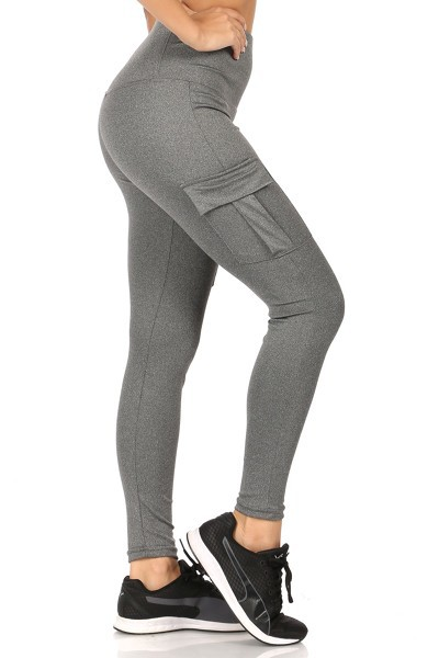 Cargo Pockets Yoga Pants Leggings - orangeshine.com