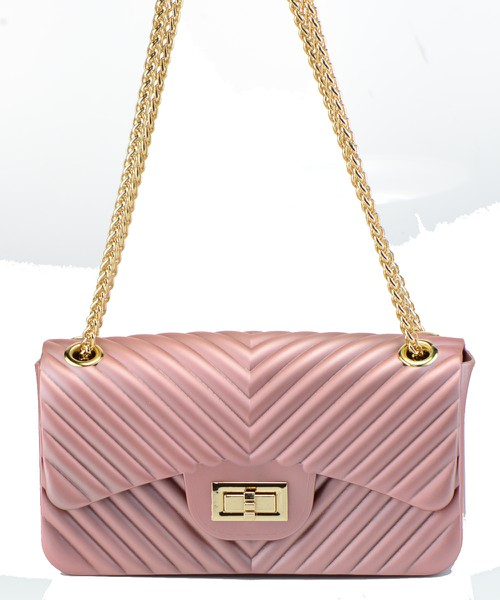 Cute Hot Trendy Chevron Jelly Bag - orangeshine.com