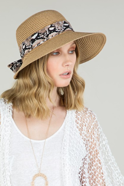 Woven Butterfly Back Sun Hat - orangeshine.com