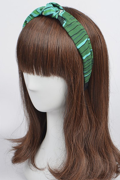 Leaf Print Head Band - orangeshine.com