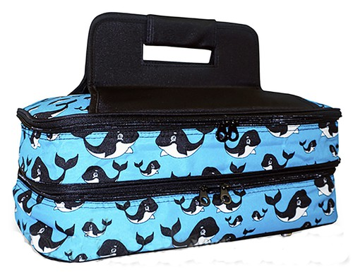 Whale Insulated Casserole Bag - orangeshine.com