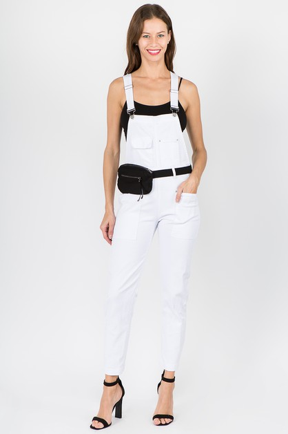PLUS SIZE OVERALLS WITH BELT BAG - orangeshine.com