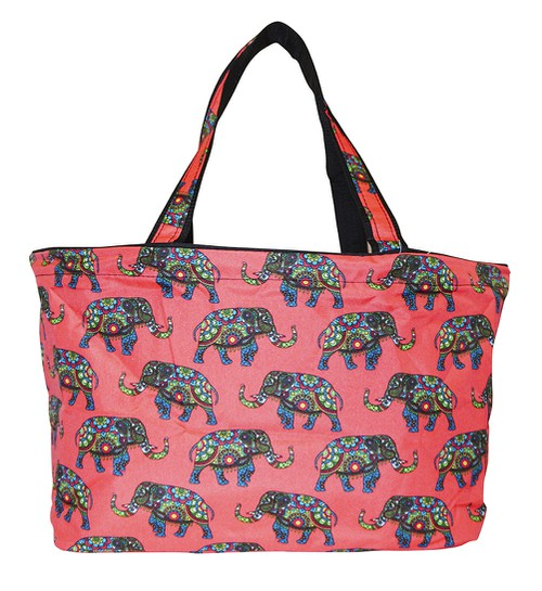 Elephant Beach Tote Bag 18 inch - orangeshine.com