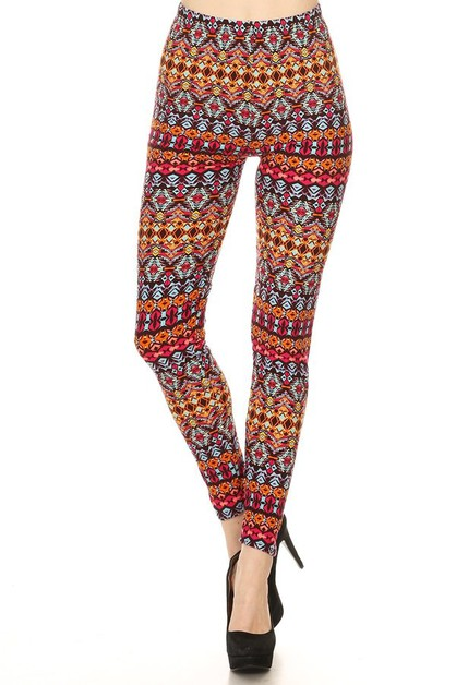 Buttery Soft Plus Size Leggings - orangeshine.com
