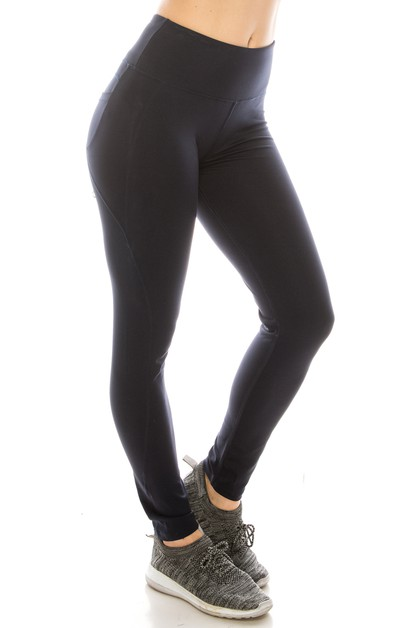 Premium back pocket yoga legging - orangeshine.com