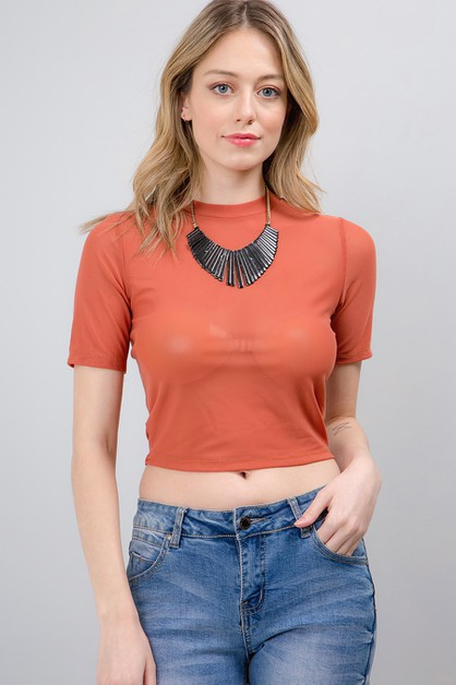 Mesh Top - orangeshine.com