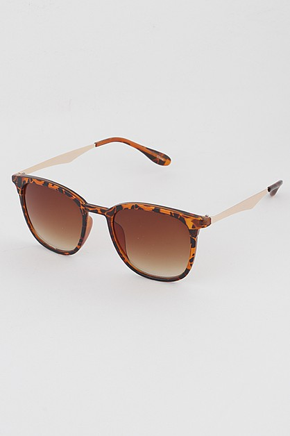 Simple Frame Square Sunglasses - orangeshine.com