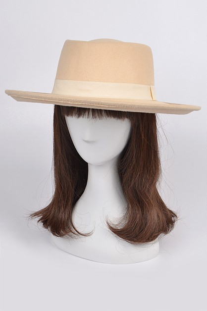 Plain Trendy Bow Hat - orangeshine.com
