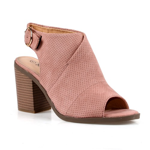 Hwood-02 Slingback Booties - orangeshine.com