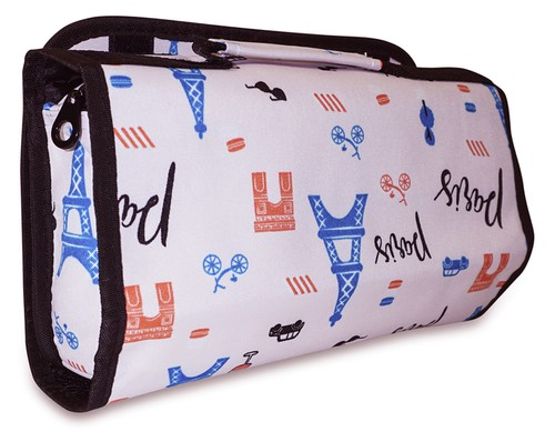 Paris Hanging Toiletry Bag Travel - orangeshine.com