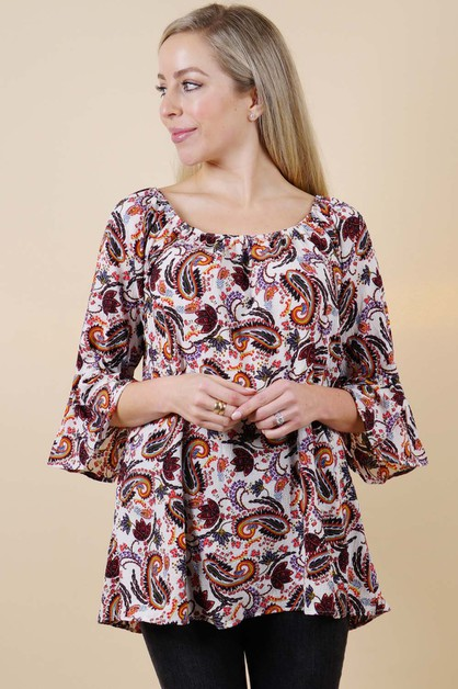 Printed Women Top - orangeshine.com