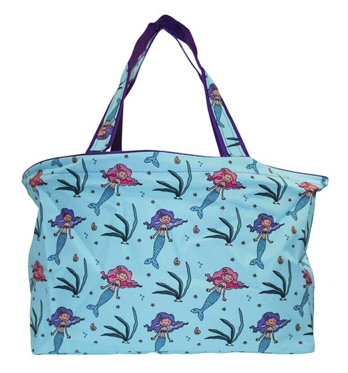 Mermaid Beach Tote Bag 18 inch - orangeshine.com